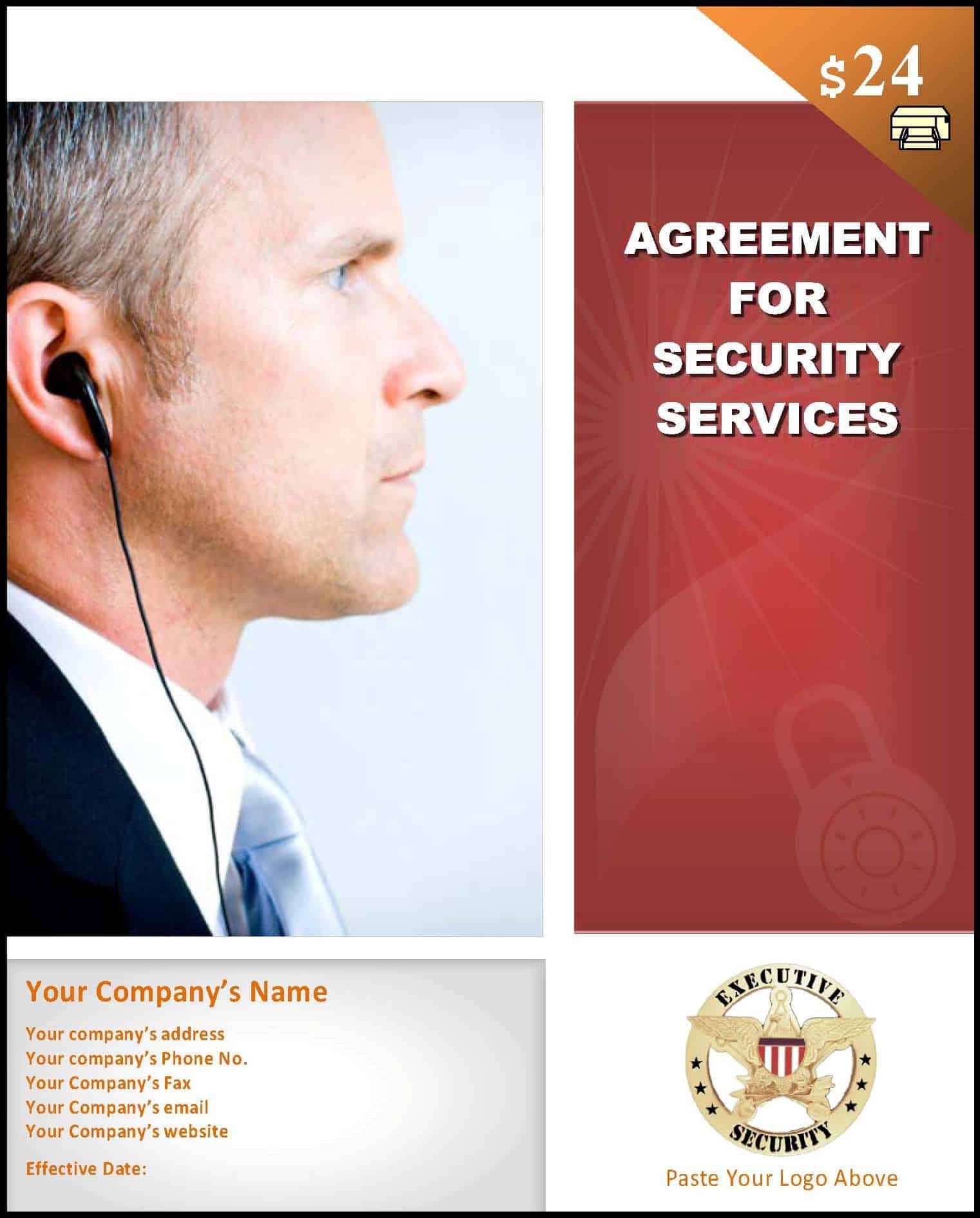 Sample security contract template startasecuritycompany security service contract template saigontimesfo