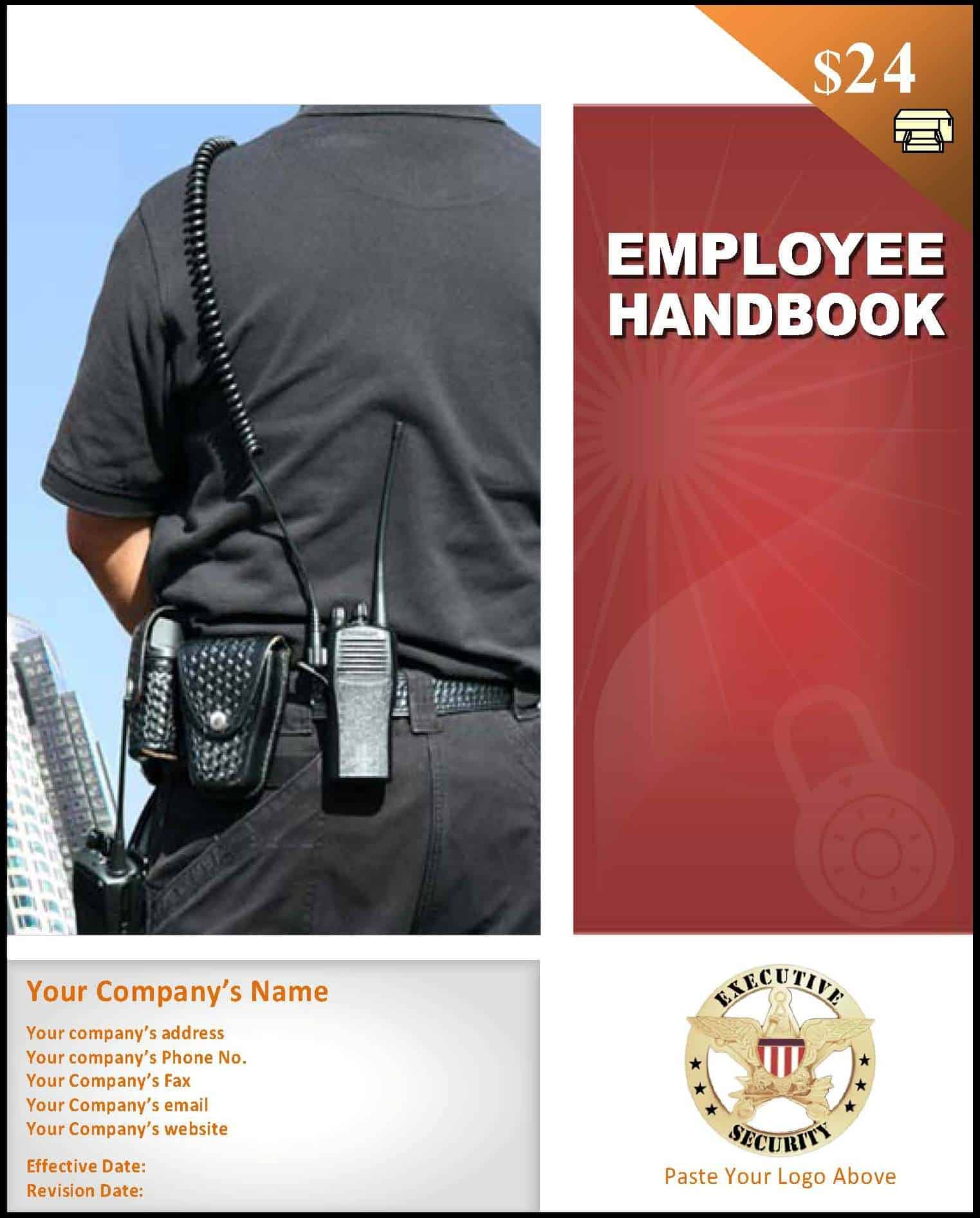security guard employee handbook