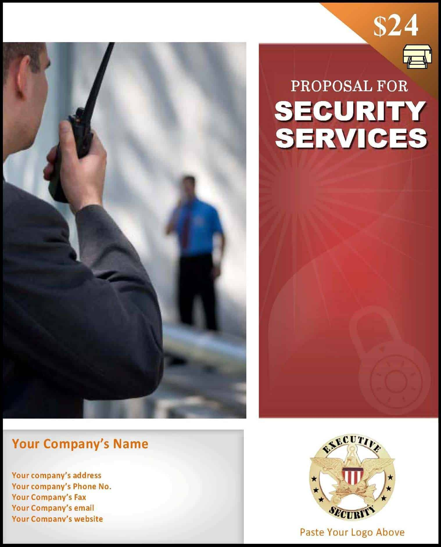 security services proposal template